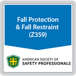 ANSI/ASSP Z359.15-2014 Safety Requirements for Single Anchor Lifelines and Fall Arresters for Personal Fall Arrest Systems (digital only)