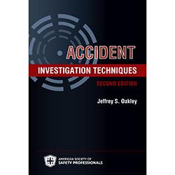 Accident Investigation Techniques - Digital Version