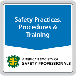 ANSI/ASSP Z490.1-2016 Criteria for Accepted Practices in Safety, Health and Environmental Training