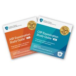 Combo ASP Examination Study Guide CD V7.5 and CSP Examination Study Guide CD V8.0