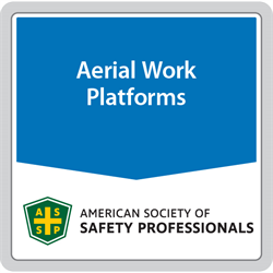 ANSI/SAIA A92.24-2018 Training Requirements for the Use, Operation, Inspection, Testing and Maintenance of Mobile Elevating Work Platforms (MEWPs)