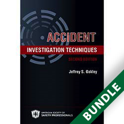 Accident Investigation Techniques, 2nd Edition - Digital and Print Bundle