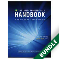Safety Professionals Handbook - Management Applications Volume I 2nd Edition - Digital and Print Bundle