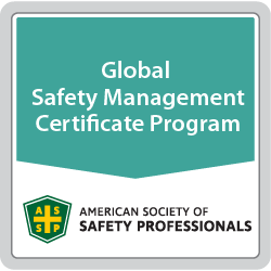 Global Safety Management Certificate Program