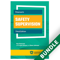 Petersen's Safety Supervision, Third Edition Print/Digial Bundle