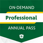 On-Demand Annual Pass - Professional