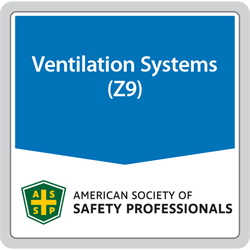 ANSI/ASSP Z9.10-2017 Fundamentals Governing the Design and Operation of Dilution Ventilation Systems in Industrial Occupancies (digital only)