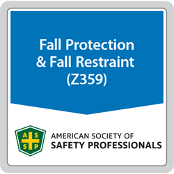 ANSI/ASSP Z359 Fall Protection and Arrest Standards Package