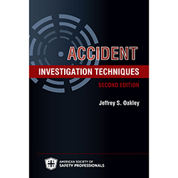Accident Investigation Techniques, 2nd