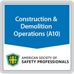 ANSI/ASSP A10.39-1996 (R2017) Construction Safety and Health Audit Program (Digital only)