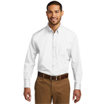 Men's Button Front Shirt - White - 2X Large