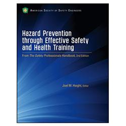 Hazard Prevention through Effective Safety & Health Training - Print Version